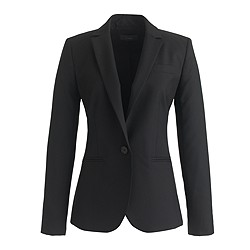 Black Campbell Blazer from J crew