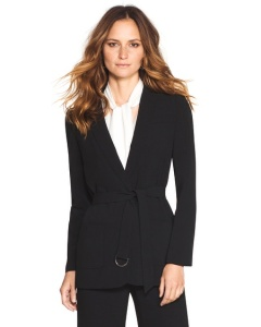long drapey blazer