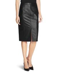 leather pencil skirt for $99