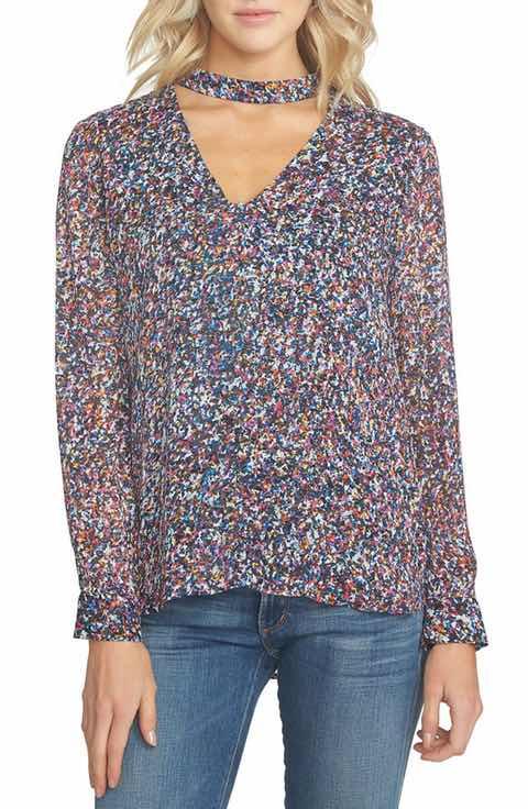 1-state-choker-neck-chiffon-blouse