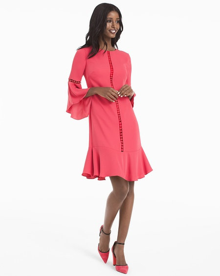 belle-sleeve-shift-dress