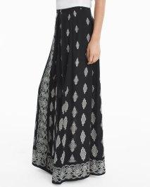 medallion-print-maxi-skirt