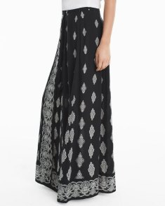 medallion-print-maxi-skirt