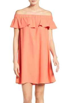 chelsea28-off-the-shoulder-ruffle-dress