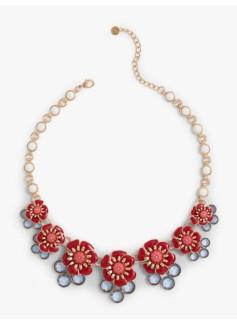 flower-and-gem-cluster-necklace