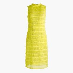 fringly lace dress