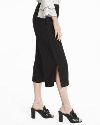 split crop pants
