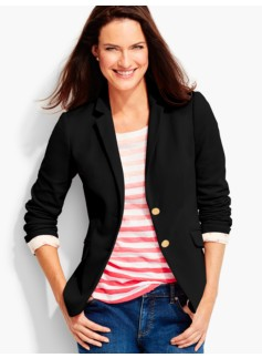 talbots-black-knit-blazer