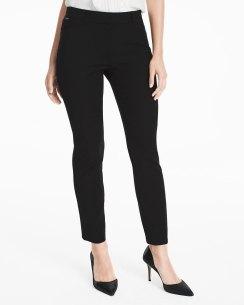 basic black skinny pants