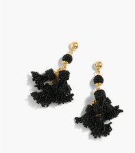 J. Crew beaded tassel earrings