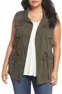 Caslon utility vest plus