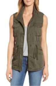 Caslon utility vest reg and petite