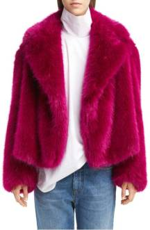 Dries Van Noten Faux Fur jacket