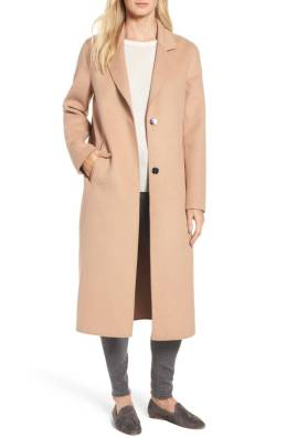 Kenneth Cole long wool coat