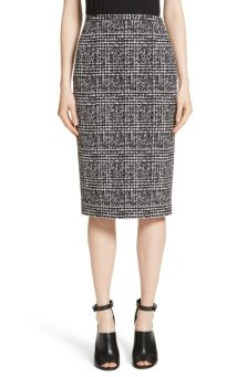 Michael Kors Glen Plaid skirt.