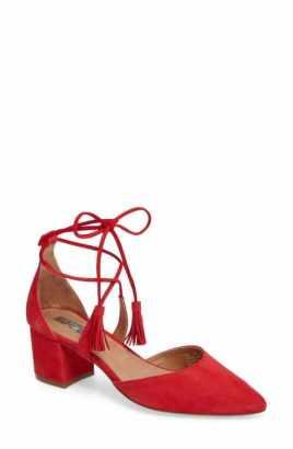block heel D'orsay