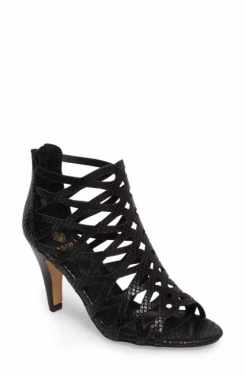 caged heel shoes