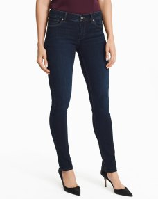 dark wash slim jeans