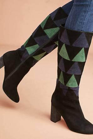 farlyrobin corduroy inset boots