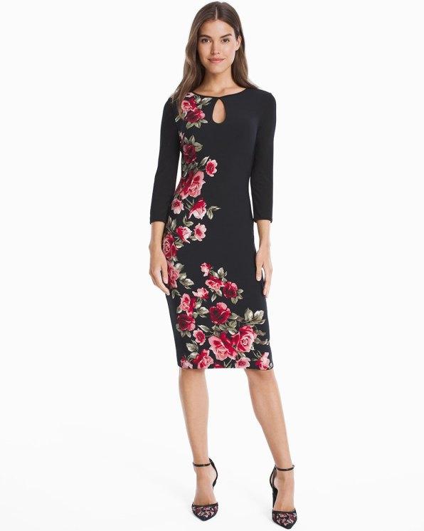 floral reversible dress 1