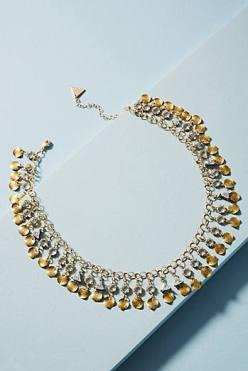 sparkle bib necklace