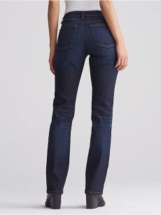 eileen Fisher cotton stretch straight jean