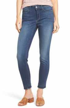 NYDJ realeased hem stretch skinny ankle jean