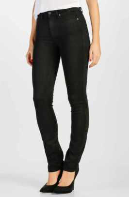 PAIGE transcend-hoxton high waist straight jeans