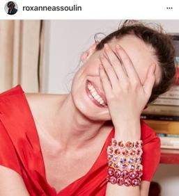 girl with bracelets