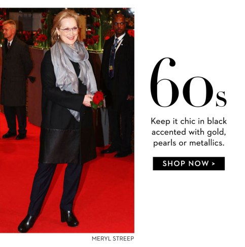 Meryl chic black